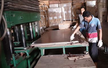 Melamine Lamination Hot Press Machine Plywood Hot Press Machine