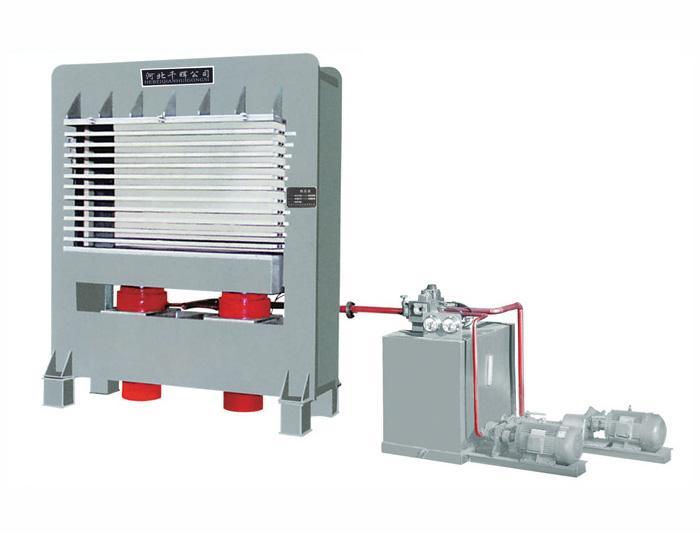 4x8尺 15层 热压机 多层热压机 人造板热压机