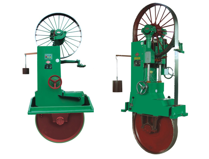 立式木工带锯机 φ800-1500mm
