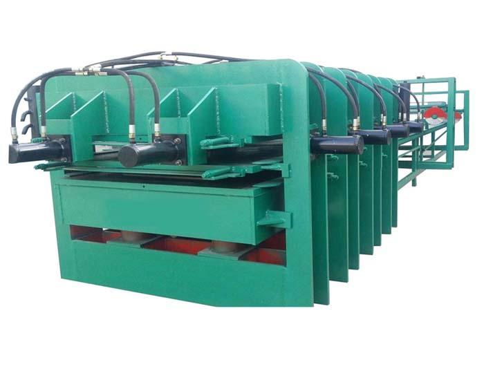 细木工热压拼接机 两层热压机 细木工拼板机 四面侧压热压机