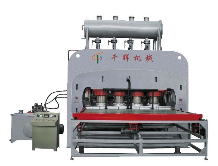 1600吨短周期快速贴面热压机