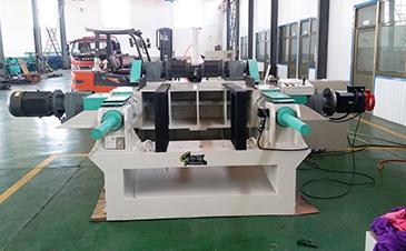 重型铸件刀台高精度旋切切板一体机(双箱动)